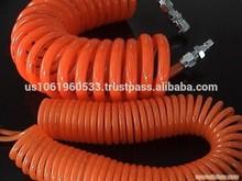 2015 hot China industrial Fushi 10M 10mm x 6.5mm pu reinforced coil hose