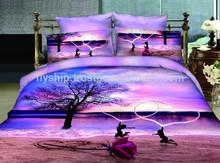 luxury design /king size 3d beding set