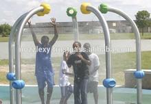 High Quality Water Park Equipment ; Aque Splash Pad; Plux Cane, Water Euipment for Playground