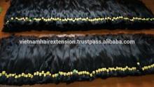 Raw bulk hair / unprocessed human hair bulk ,double drawn hair, Vietnam hair