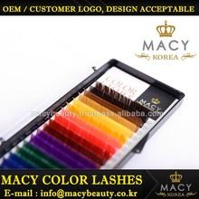 Colorful Eyelashes , Rainbow False Eyelash
