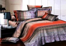 high quality Popular pattern 3d bed linen set