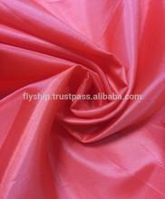 100% polyester taffeta lining textiles in Dubai