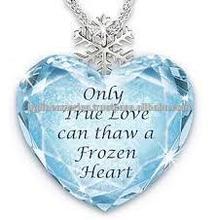 Frozen Elsa Necklace 2015 design Frozen theme jewelry