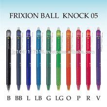 pilot frixion ball knock erasable pen ball point pen wholesale
