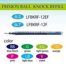pilot frixion ball knock ballpoint pen frixion refill