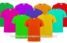 mens 100% cotton cheap wholesale blank t shirts