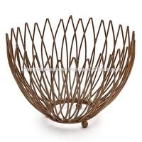 Metal Wire Fruit Bowl