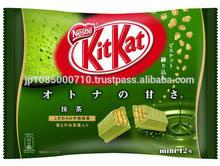 Original Japanese KitKat green tea chocolate for snacking