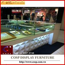 Modern design jewellery display furniture/showcase/cabinet for shop/store/showroom