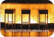 Lounge bar of onyx.