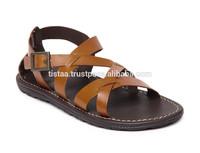 2015 summer leather sandal shoes for men,custom sandals