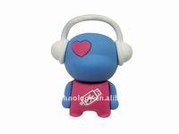 Hot sell cute music boy USB flash drive 8GB