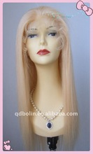 2013 New Fashion 100% Indian Human Hair Front Lace Wigs