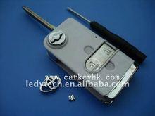 Hot sell Toyota key,flip modified remote car key blank shell