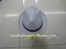 New Promotion authentic customized brand Cowboy cap Fedora hat A-4