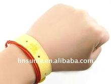 Ambiental pulseiras de mão para repelir mosquitos