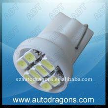 T10 194 168 W5W SMD 8 car led lamp,side bulb light, side light lamp