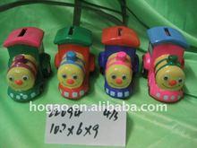 ceramic train money box