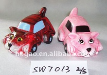 tiger car money box