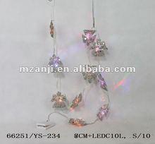 2011 handmade yarn christmas ornaments