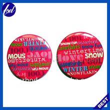 christmas plastic tin button badge