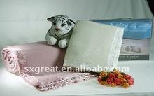 high quality Super soft baby merino wool blanket