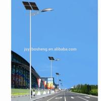 10 meter galvanized solar lighting pole