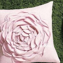 Blooming Rose Throw Pillow