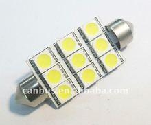 16 SMD LED Festoon Bulb Light 39mm Car Interior Dome