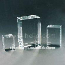 Clear blank crystal