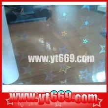 Transparent hologram ID card
