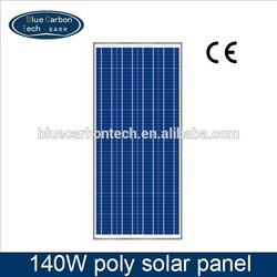 low price polycrystalline silicon solar panel 140W