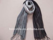 Fashion mens summer linen hand dyed scarf