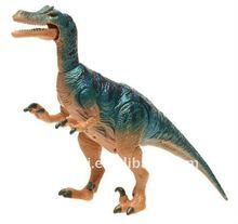 3D plastic dinosaur figurines animal toy