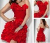 2014 Attractive Short Red Cocktail dress