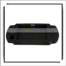 Hot!!! For PSP 2000 Black Silicone Case
