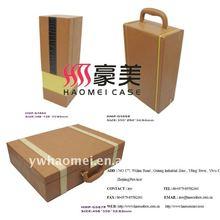 Leatherette wine gift box
