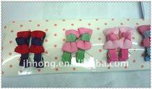 2012 New Girls Ribbon Bow Hair Clips
