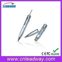 2 in 1 Hottest usb flash drive laser pointer ball pen bulk cheap