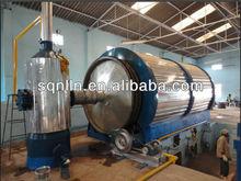 INDIA HOTTEST SALES MODEL 2800*6000 SCRAP TIRE PYROLYSIS PLANT
