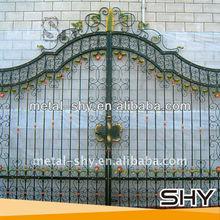 Protective Iron Gate,Sliding Iron Main Gate Design