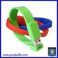 niedrigster pvc armband armband usb flash stick oder für werbezwecke