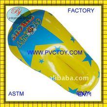 Nuevo estilo de plástico pvc de aire inflable zapatos