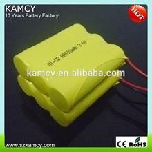 China professional nicd battery cordless drill phone accessory AA600mAh