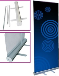 Stable Roll Up Banner Stands, digital printing