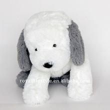 Pattern dog plush toys, 2013 fresh style, grey & white