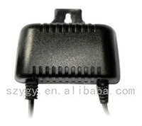 YK-04 24w 12v 2a 9v 2a waterproof hanging power adapter