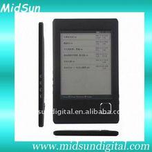 fashional e-book reader,wifi,3G,e-ink,touch screen,notebook,ebook,TFT