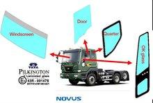 quarter glass for TATA Novus truck block auto-glass